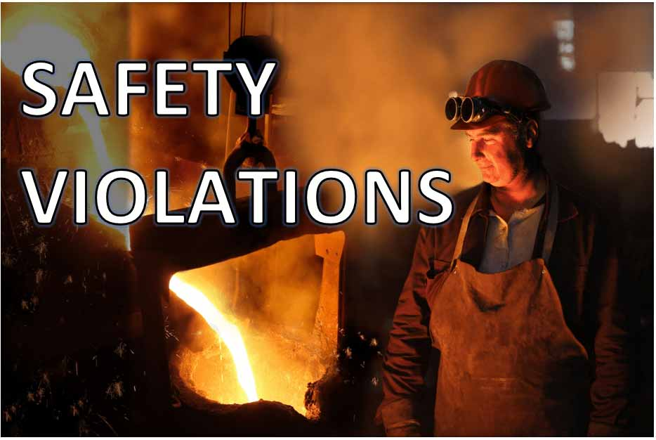 OSHA Issues More Than $400K in Penalties to Central New York Foundry
