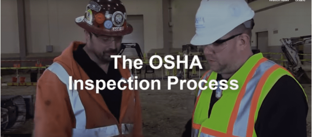 OSHA Inspection Process – An Overview