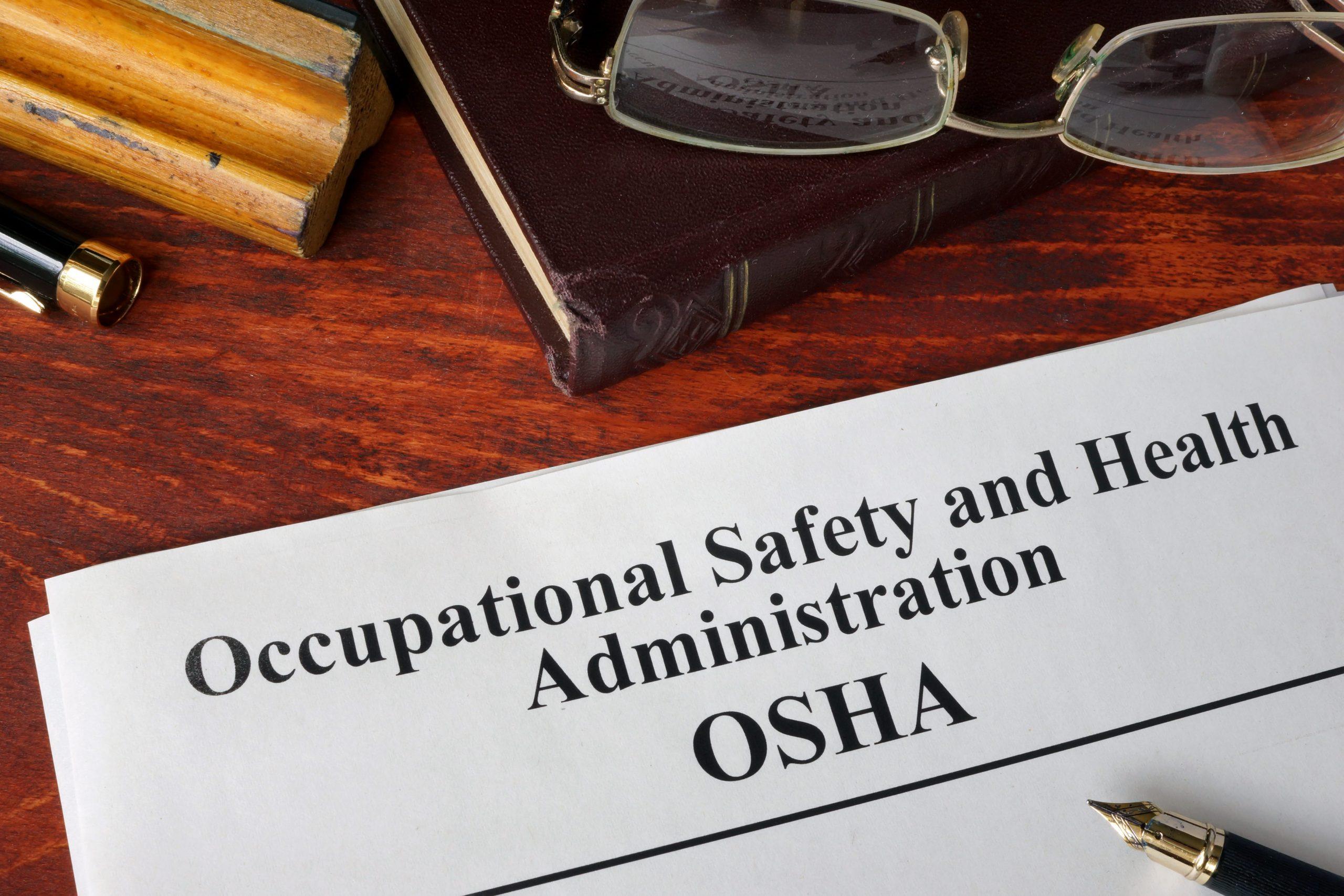 Workforce Safety mandated by OSHA