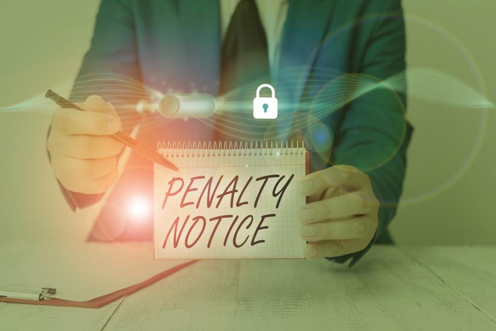 Penalties for committing an osha violation