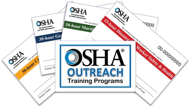 you can get OSHA certification for all OSHA courses