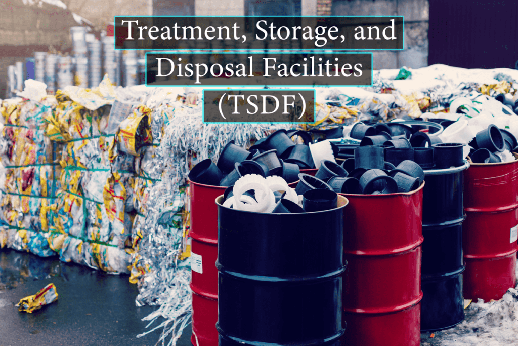 RCRA Permitted Treatment, Storage, and Disposal (TSD) Facilities