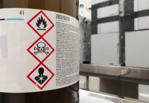 GHS labels for chemical safety