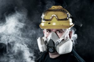 Respiratory protection againsts Asphyxiants